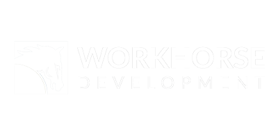Workhorse Development logo white